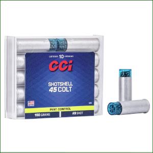 C3972 CCI 45LC SHOTSHELL 1/3oz 9 shot